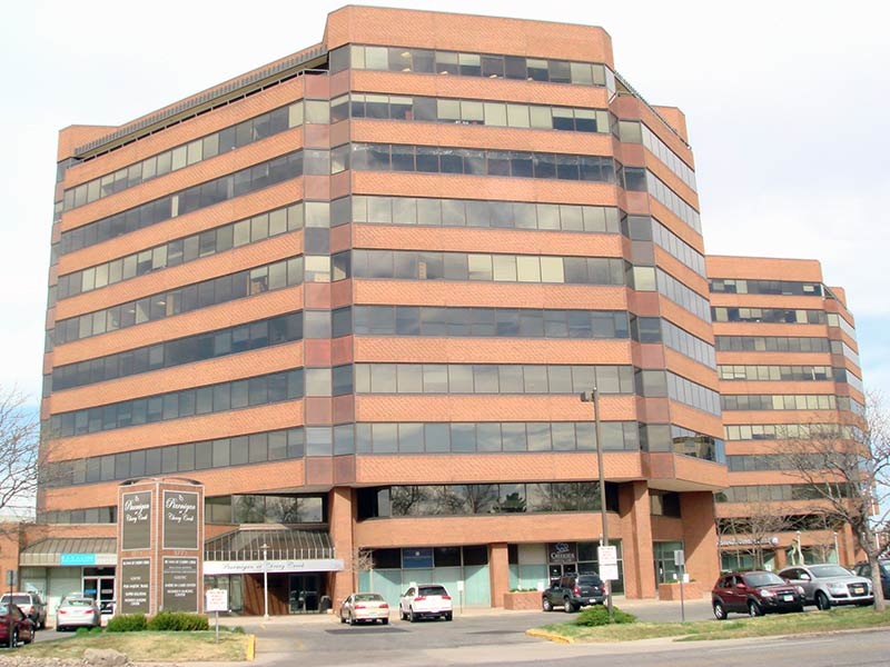 High-end office space for sublease in Cherry Creek